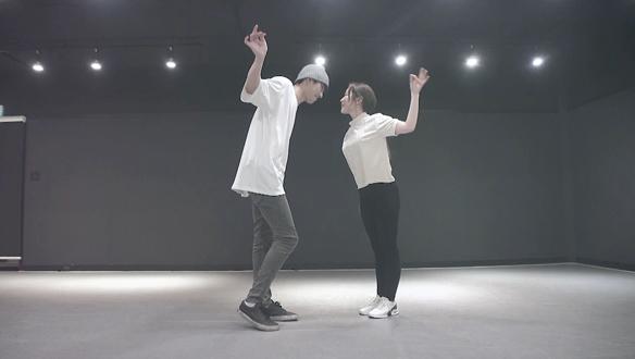 김슬기 & 안효섭의 시청률 공약 이행 댄스~♬