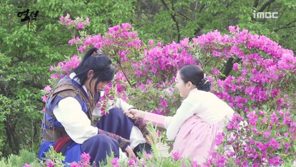 길령부부, 꽃밭에 앉아서..♥ <생생현장>