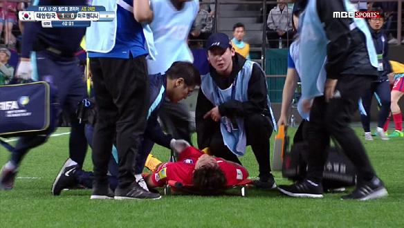 [하이라이트] 대한민국 vs 아르헨티나, 대한민국의 막내 조영욱 온몸을 바친다!막내의 승리를 위한 거침없는 플레이