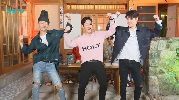 해요TV 핫클립-[B.A.P의 사생활] 오랜만에 보는 상어가족 댄스
