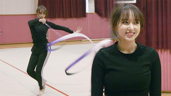 명불허전 우주소녀 성소의 '리듬체조' 연습 현장!