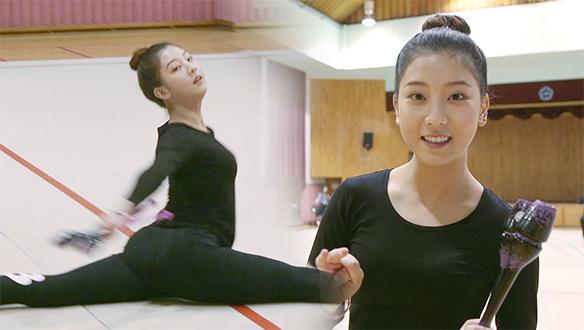 여성 파워를 보여줄 CLC 승연의 '리듬체조' 연습 현장!
