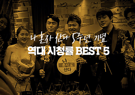 [스페셜영상] <나 혼자 산다> 5주년 특집 역대 시청률 BEST5