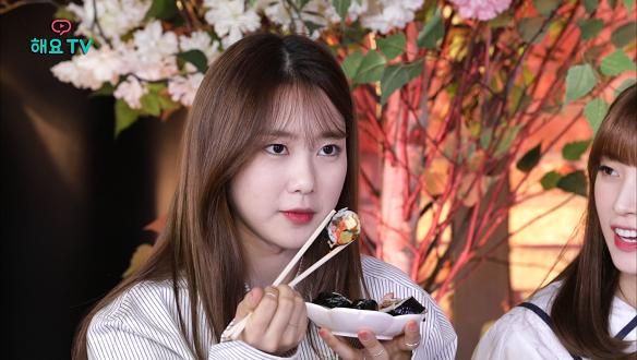 [오마이걸의 사생활 시즌2] 정성스럽게 만든 오마이걸표 개성 넘치는 김밥 먹어보기!