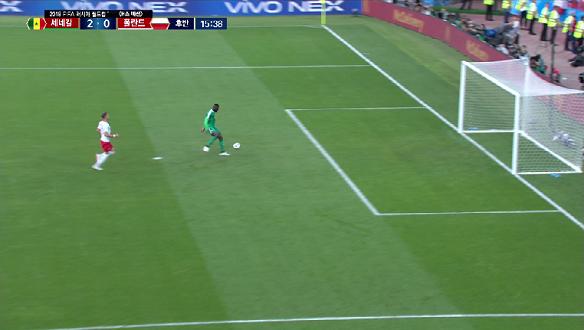 [골장면] <H조 예선> 폴란드 VS 세네갈, 니앙 최고의 타이밍에 터진 럭키찬스, 추가 득점