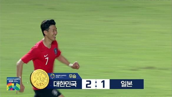 [하이라이트](축구)대한민국VS일본 결승전 2연패, 경기 주요장면