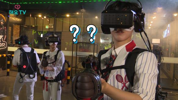 해요TV 핫클립-[온앤오프의 사생활] VR 비하인드 하드털이!