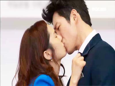 [18회] 이건(장혁)-미영(장나라) 기자회견장서 강렬한 공개 키스로 재결합