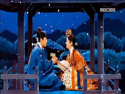 이건(장혁)♥미영(장나라) 합방… 떡방아신 버금가는 쌀보리신