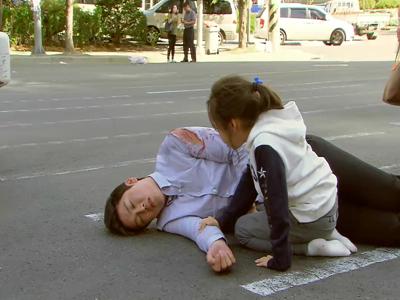 [47회] 지상(성혁), 트럭과 마주한 비단(김지영) 구하려 몸 날렸다 '눈물겨운 부성애'
