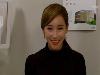 [48회] 민정(이유리), 임신으로 이혼 위기 벗어나나? '비열한 미소'
