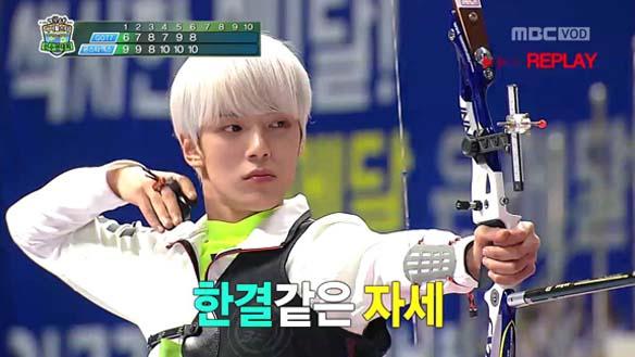 [양궁 남자 단체전 결승] GOT7 VS 몬스타엑스 - '10점 괴물' 몬스타엑스, 대회 신기록 수립 [2부]