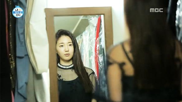 외출 준비 중 프란체스카 연상시키는 블랙 드레스 입어보는 김사랑…박나래와 영혼 쌍둥이?! [210회]