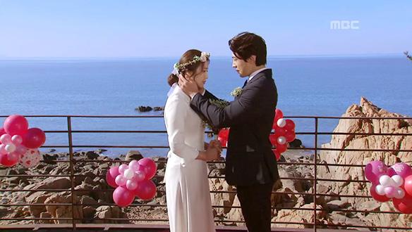 """""""우리는 부부가 되었습니다""""…도빈(김경남)과 우정(서해원), 결혼"""