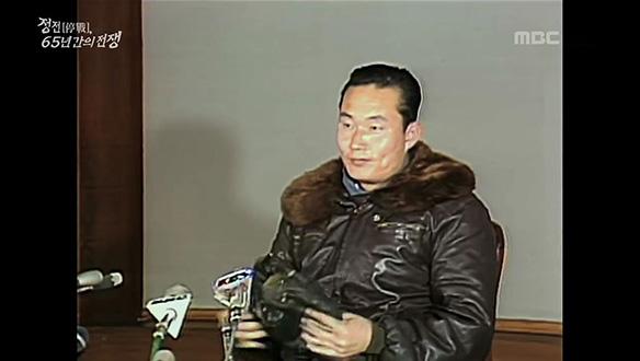 북한에서 날아온 귀순 용사