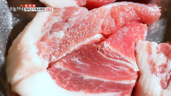 '꼬들살&오돌갈비' 독특한 식감으로 돼지고기를 평정하다!