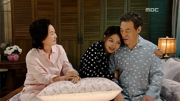 """""""아빠도 사랑해요""""…루리(최수영), 시집가기 전날 부모님과의 애틋한 시간 [50회]"""
