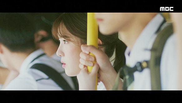 """""""웬일로 늦게 가냐?""""…버스에서 마주친 시원(양혜지)과 시언(신윤섭)"""