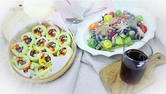 위 건강을 지켜주는 채소 '양배추'로 초 간단 즙&김밥 만들기!