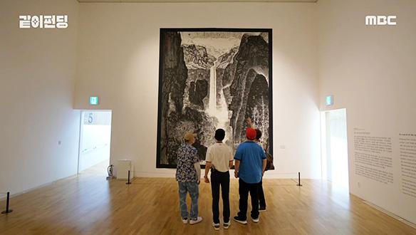 소산 박대성 화백의 혼이 담긴 작품, 넋 놓고 보게 되는 장엄한 광경