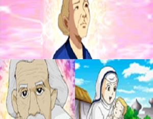 세계를 빛낸 어린위인들 - MBC만화마당