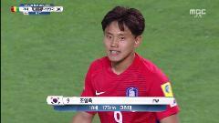 [FIFA U-20 월드컵 코리아 2017][하이라이트] 대한민국 vs 기니, 아깝다 조영욱의 골대 살짝 빗겨가는 회심의 슛