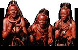 원시인 부족 사람