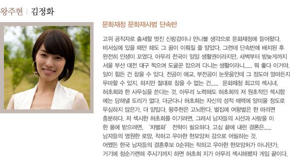 왕주현 | 김정화