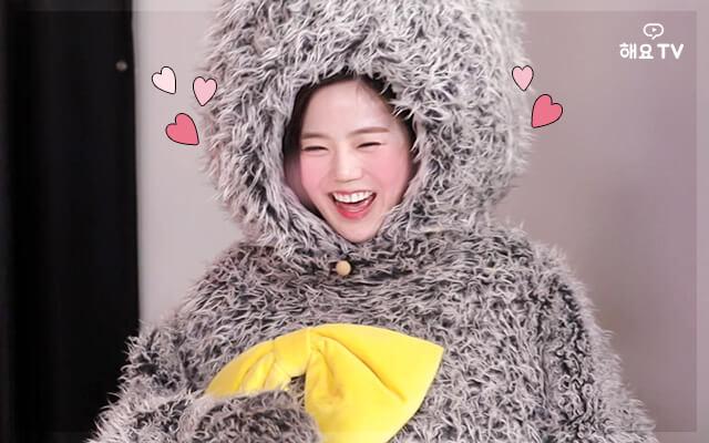 [오마이걸의 사생활] 미공개 영상! 효정토끼와 리액션 요정들